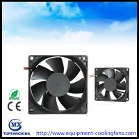 Wholesale High Air Volume DC 12V Computer Case Cooling Fans High Temperature 80mm X 80mm X 25mm from china suppliers