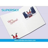Wholesale Paper Material Digital LCD Video Brochure , 4.3 inch Video Greeting Card from china suppliers