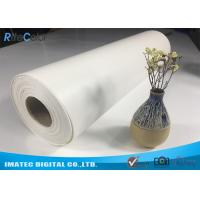 "Wholesale Outdoor Eco Solvent 380gsm Glossy Inkjet Pure Cotton Canvas Roll 122"" from china suppliers"
