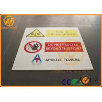 Wholesale Traffic Reflective Aluminum Dangerous Warning Sign Highway Traffic Signs from china suppliers