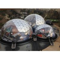 Wholesale Spacious 20M Diameter Geodesic Dome Tent With Transparent Fabric from china suppliers