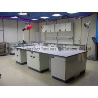Wholesale Durable School Steel Lab Bench 1.0mm Steel Cabinets With PP Material Handle from china suppliers