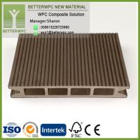 Wholesale High Composite Deck Quality Wood Plastic Composite Floor Around Pool Waterproof WPC Poland Supplier from china suppliers
