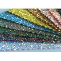 """Quality Fashion Chunky Glitter Fabric 3D Glitter Fabric For Hairbows 54/55"""" Width for sale"""