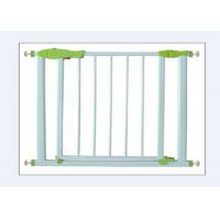 Wholesale Retractable White Child Safety Gates Stairs Closes Automatically from china suppliers