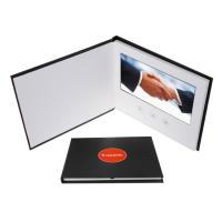 China Commercial Promotional Video Brochure Using 300g Coated Art Paper on sale