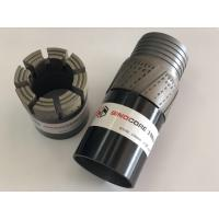 Wholesale Wireline Impregnated Diamond Core Bits With 10mm / 12mm / 14mm Crown Height Performance from china suppliers