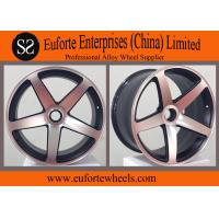 Wholesale Matt Black Machined Virtual Custom Wheels Forged Auto Wheels TUV from china suppliers
