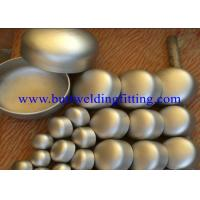 "Wholesale Uns S32205 1"" 24"" Weld On Steel Pipe Caps Super Duplex Steel UNS S32750 / 32760 from china suppliers"