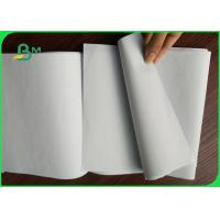 Buy cheap White Uncoated Woodfree Paper , 80gsm Offest Notebook Paper Rolls from wholesalers