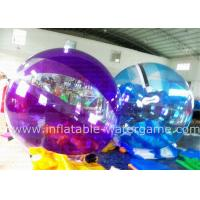 Wholesale Commercial Inflatable Human Hamster Ball For Pool , Human Water Bubble Ball from china suppliers