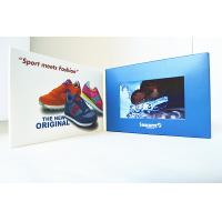 Wholesale Blank CMYK Printing LCD Video Brochure , 5 inch Invitation Video Card from china suppliers