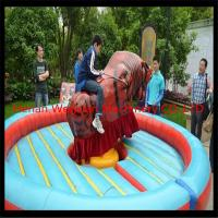 Wholesale Interesting Amusement park rides Mechanical Rodeo Bull for sale from china suppliers