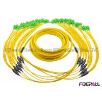 Wholesale 72 Fibers Branch Fiber Optic Jumper Breakout SC / APC - SC / APC For High Density Use from china suppliers