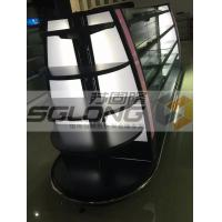 Wholesale Professional Retail Gondola Shelving , Cosmetics Display Racks With LED Light from china suppliers