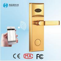 Wholesale Battery operated different types Stainless Steel golden keyless door locks smartphone from china suppliers
