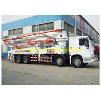Wholesale New Condition Sinotruk HOWO concrete pump truck with 52M Operation Height from china suppliers