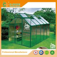 Wholesale 10'x6'x6.7'FT Green Color Single Door Popular Series Aluminum Greenhouse from china suppliers