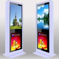 Wholesale Custom Full Screen Floor Stand LCD AD Display / Digital Signage Kiosk 3G High Definition from china suppliers