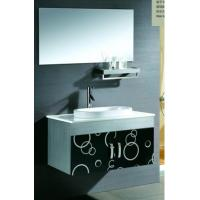 Wholesale 1000 * 120 Shelf 1000 * 550 Mirrored Stainless Steel Bathroom Base Cabinet from china suppliers