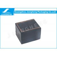 Wholesale Orange Sewing Men Watch Packaging Boxes , Luxury Watch Box With Velvet Pillow from china suppliers