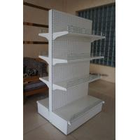 Wholesale Double Sided Supermarket Display Racks System , Metal Store Shelving from china suppliers