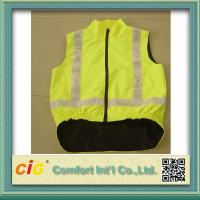 Wholesale Waterproof Warmly And Safety Reflective Safety Vests with Pockets S - 3XL for Traffic Workers from china suppliers