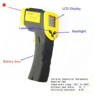 Wholesale ℃ / ℉ Selection handheld Non contact automatic infrared laser thermometer from china suppliers