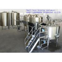 Wholesale 100L stainless steel beer fermenter / malt fermentation /304 stainless steel pot / beer brewing plant uses /316L stainle from china suppliers