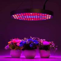 Wholesale Marijuana UFO LED Grow Lights With Alluminum / PC Materials , Dia 33x H3 cm from china suppliers