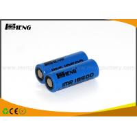 Buy cheap Lithium Ion Electronic Cigarette Battery Blue Smok E Cig Battery from wholesalers