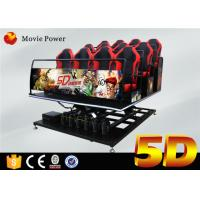 Wholesale Motion Simulated 5D Movie Theater 5D Cinema Equipment For Shopping Mall from china suppliers
