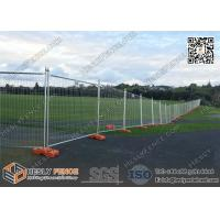 Buy cheap Canberra Secure Temporary Fence Panels for sale 42micron meter galvanized zinc layer | 2100mm height from wholesalers