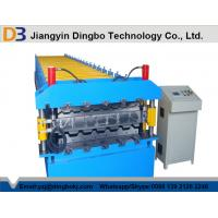 Wholesale Colored Galvanized Steel Double Layer Roll Forming Machine For IBR Roof from china suppliers