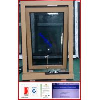 Powder coated aluminum double glazed awning window with Australia design