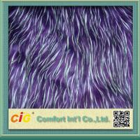 Wholesale Polychrome Long Pile Artificial Fur  / Jacquard Faux  Fur Fabric For Garmant Toy or Home Textile from china suppliers