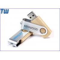 Buy cheap Wooden Body Metal Twister 128GB Pendrives Stick Memory Storage from wholesalers