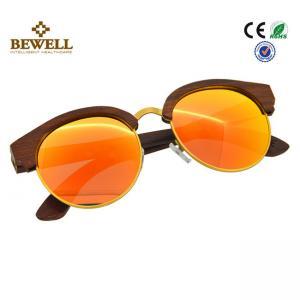 Buy cheap Men Wooden Polarized Sunglasses Customized Handmade UV 400 protection from wholesalers