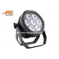 Wholesale Ip65 Waterproof Rgbwa Flat Outdoor Led Par With Aluminum Black Housing from china suppliers