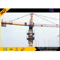 Wholesale 1.0T Tip Load Topkit Hammerhead Tower Crane 4 Tons Max Height 120M from china suppliers