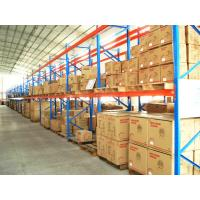Quality Cold Rolled Adjustable Heavy Duty Pallet Racking , Industrial Shelving Systems for sale