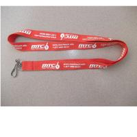 Wholesale China lanyard factory for cheap printed polyester neck lanyards with swivel hook J hooks from china suppliers