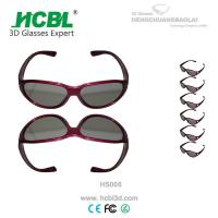 Wholesale Logo 24g weight games Reald 3D Glasses PC Frame TAC 0.72 Mm Lens from china suppliers