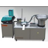 Wholesale Full automatic stainless steel cover cap lining machine with gluing function from china suppliers