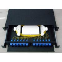 Wholesale 24 Ports SC UPC Fiber Optic ODF Termination Joint Closure Box 12 Fiber Pigtail from china suppliers