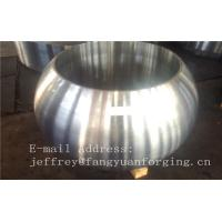 Wholesale Spherical Size Rough Turned Valve Forging ASTM A105 F304 F316 F51 F53 F60 from china suppliers