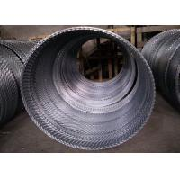 China Anti Thief Razor Blade Fence Coil Wire Hot Dipped Galvanized High Tensile on sale