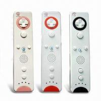 Wholesale Ergonomic Design Remote Controller, Fully Compatible with Wii Game Consoles and Games from china suppliers