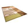 Buy cheap Custom Green / Orange Hand-tufted Acrylic Floor Rugs, Handmade Modern Area Rug from wholesalers