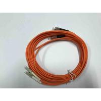 Wholesale FC / UPC  LC / UPC Multimode Duplex Fiber Optic Cable 3.0mm For QSFP Devices from china suppliers